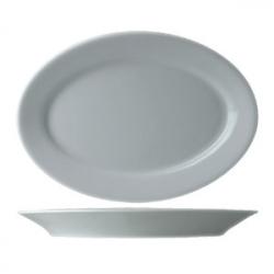 Блюдо овал «Прага» 31см фарфор