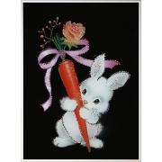 Любовь-Морковь.Размер картины:30х40