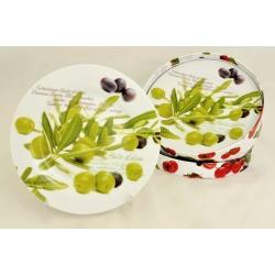 Набор из 4-х тарелок «Олива» 19 см