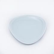 Тарелка 16*17см. Муд «Белое»