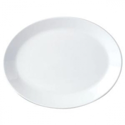 Блюдо овал «Симплисити вайт» 20.25см