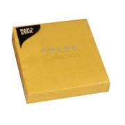 Салфетки 25*25см желтые 20шт