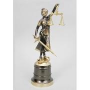 «Правосудие» мал. каштан 23х7,5 см.
