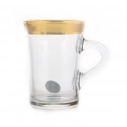 Набор для чая 220мл. 6 перс. «Голд»
