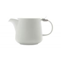 Чайник с ситечком 0.6л Оттенки (белый) в инд.упаковке