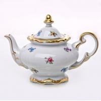 Чайник заварочный 0,6 л. «Мейсенский цветок»