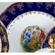 Набор тарелок 6 шт. 25 см. «Мэри Энн 0179»