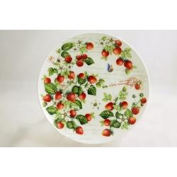 Десетрная тарелка «Земляника» 19 см