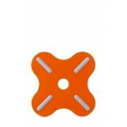 Подставка под горячее «Плюс» (Plus) Rosti Mepal 19,5 x 19,5 x 0,8см (оранжевый)
