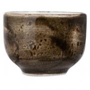 Стопка для саке «Крафт», фарфор, 45мл, D=5,H=4см, коричнев.