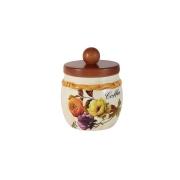 Банка для сыпучих продуктов с деревянной крышкой (кофе) Элеганс