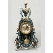 Часы с маятником цвет - синий 38х22см
