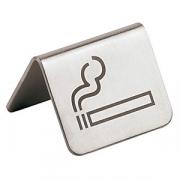 Табличка «Можно курить», сталь нерж., H=35,L=55,B=50мм