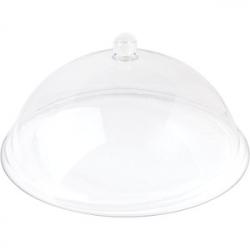 Крышка для тарелки, поликарбонат, D=30см