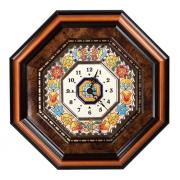 Часы настенные 25х25 см 8-ми угольные