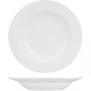 Тарелка глубокая «Кунстверк» D=25.4см; белый