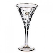 Набор бокалов 6шт. для вина 170 мл. «Лаурус» с золотом