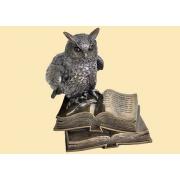 Статуэтка «Сова на книге» 16 см