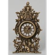 Часы «Cцены охоты» каштановый 29х17см