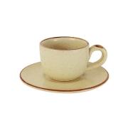 Чашка с блюдцем Rustico