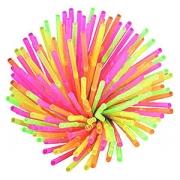 Трубочки цветн. «Фло» [500шт], D=6,L=210мм