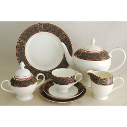 Чайный сервиз на 12 персон 40 предметов «Зафира»