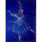 Балерина, 30х40 см, 1478 кристаллов