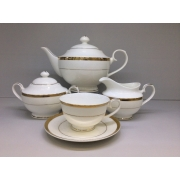 Сервиз чайный «Версаль» 17 предметов на 6 персон
