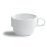 Чашка чайная «Граффити», фарфор, 210мл, D=85,H=60,L=110мм, белый