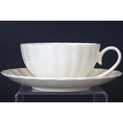 Н 1000000 Магнолия н-р чашек чайных 200мл с блюдцем 6/12 (бел.)