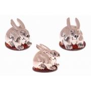 Сувенир «Толстый кролик» Размеры сувенира - 8,00 Х 5,00 х5,00 см.