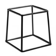 Подставка; металл,резина; H=17.8,L=17.8,B=15.2см