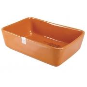 Форма для запекания 22x15x6,5 см прямоугольная оранжевая