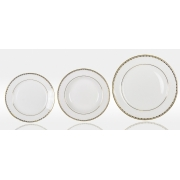Набор тарелок «Свадебный» на 6 персон 18 предметов
