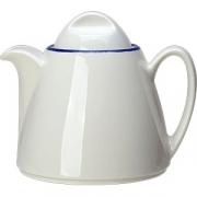 Чайник «Блю дэппл» фарфор; 350мл; белый, синий