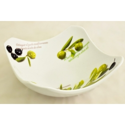 Салатник квадратный «Олива» 15 см