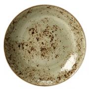 Салатник «Крафт»; фарфор; D=29см; зелен.