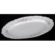 Блюдо овальное 39 см «Роза серая 5396011»