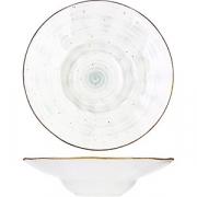 Тарелка для пасты «Пастораль» D=29см; зелен.