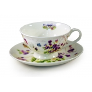 Чашка с блюдцем «Виола»