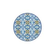 Тарелка десертная Майолика (голубая) без инд.упак.
