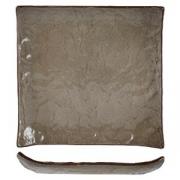 Тарелка квадратная «Кунстверк», керамика, L=19,B=19см, зелен.,коричнев.