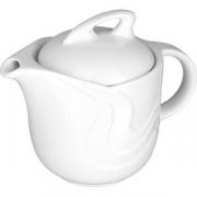 Чайник с крыш. «Атлантис» H=11, L=19, B=11.5см; белый