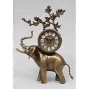 Часы «слон» цвет - каштан 30х22см
