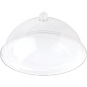 Крышка для тарелки; поликарбонат; D=25см