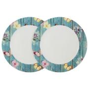 Набор из 2-х обеденных тарелок Фантазия