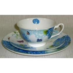 Набор для чая «Гортензии»