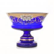Ваза «Лепка синяя 5365» 24 см. для конфет