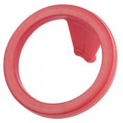 Прокладка для сифона, резина, D=45,H=25мм, красный