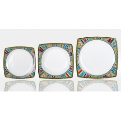 Набор тарелок «Авангард» на 6 персон 18 предметов